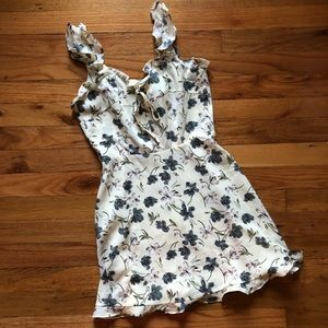 Dresses & Skirts - Floral ruffle dress